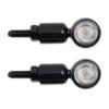 devil eyes Micro LED-Mini-Blinker-Set aus Metall Micro Motorradblinker für Motorrad Quad Scooter Roller ATV E-Geprüft und Eintragungsfrei - 1