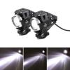 2 Stück Motorrad Scheinwerfer U5 LED 3000LM Motorrad Frontscheinwerfer 3 Modi von Fernlicht Abblendlicht Und Blinkt - 1