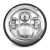 "7 ""LED-Scheinwerfer für Harley Davidson Motorrad Chrom PROJECTOR DayMaker HID LED-Glühlampe (Chrom 1* 7 zoll) - 1"