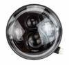 """7"""" Zoll - 178 mm LED Scheinwerfer rund zugelassen mit E-Nummer - 1"""