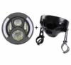 7-Zoll-Runde Led-Scheinwerfer Blinker mit 7-Zoll-Lampe Gehäuse Eimer für Motorrad Harley Davidson - 1