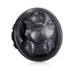 """Di&Mi 5-3/4""""5.75"""" Runde LED-Projektion Daymaker Scheinwerfer für Harley Davidson Motorräder Schwarz - 1"""