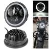 'Neue Typ 5.75 5 3/4 Zoll LED Scheinwerfer Engel Augen für Halo Motorrad (ein Jahr Garantie) - 1
