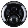VOLL LED Abblendlicht Fernlicht Standlicht Scheinwerfer Hauptscheinwerfer Schwarz 7 Zoll - 1